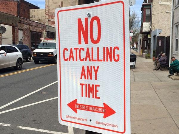 no catcalling