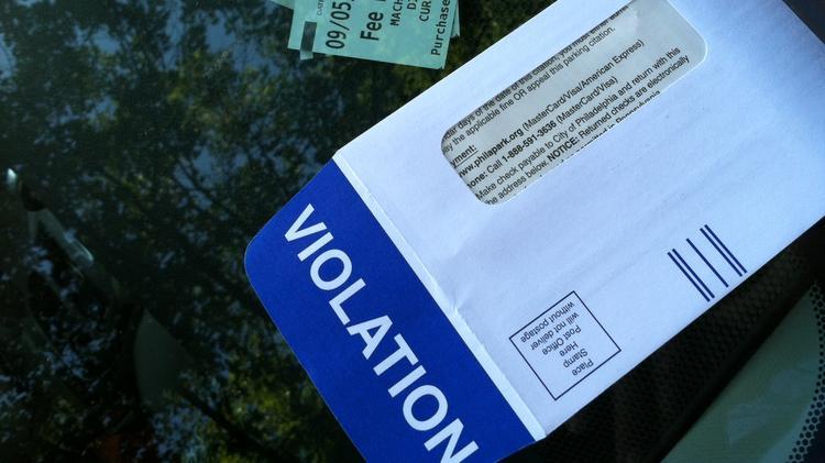 ppa parking ticket