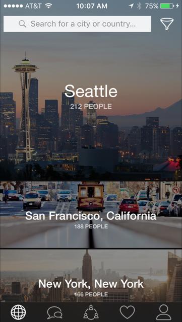 Horizon App for Hosting Trusted Friends