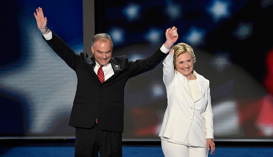 clinton and kaine